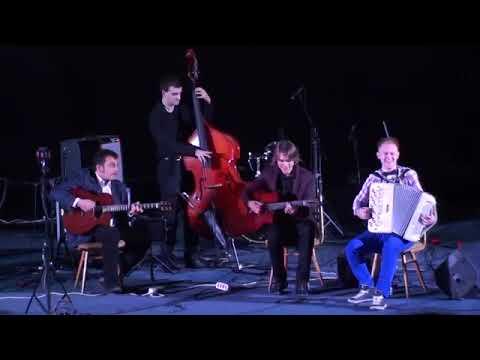 Цыганский джаз! Мануш ! Эдуард Аханов и Djangoband.  Джаз в Доме кино  LIVE