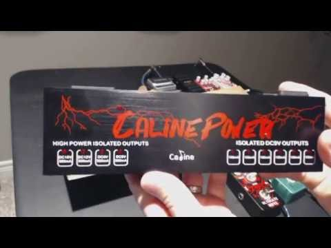 Caline CP-08 ISOLATED Power Supply Demo