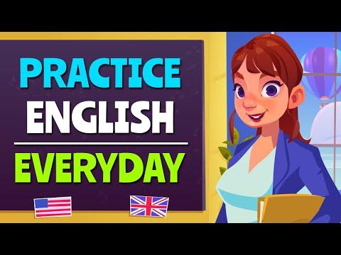 English Listening and Speaking Practice | English Conversation