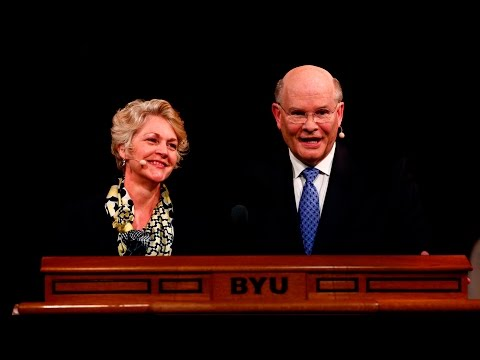 Full Address: Elder and Sister Renlund Discuss Charity at BYU Women's Conference
