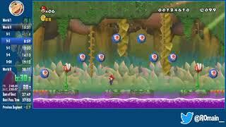 Cannon Super Mario Bros. Wii - Any% Speedrun in 33:58