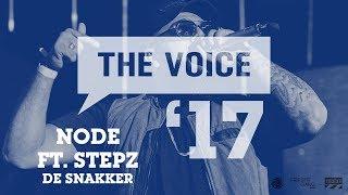 NODE feat. Stepz - 'De Snakker' (live)   The Voice '17