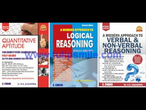 How To Prepare For Competitive Exams (Combo Of 3 Books) By R S Aggarwal