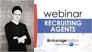 Webinar on recruiting real estate agents - full video