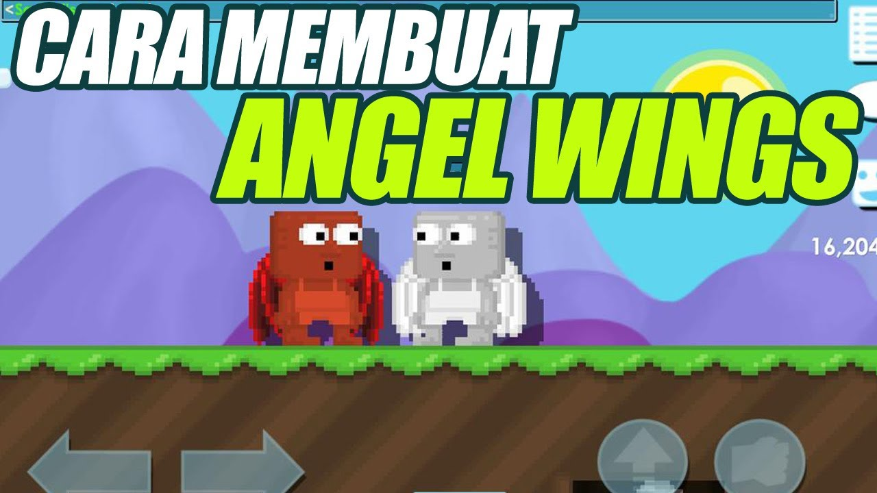 Cara Termudah Membuat Angel Wings Di Growtopia Youtube
