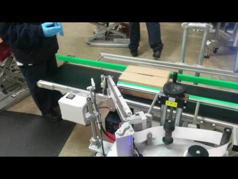 HM Linerfree Labeller - Air Assist Label Wrap Kit Option