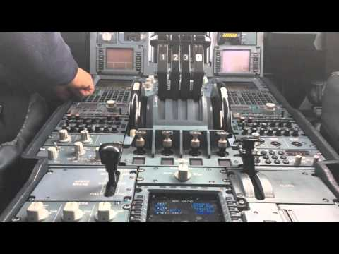 Airbus 340-600 IBERIA.MAD-BOG (cockpit view) HD 1080p