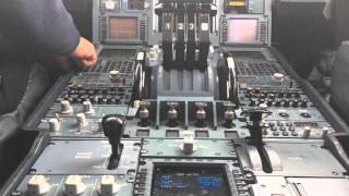 Airbus 340-600 IBERIA.MAD-BOG (cockpit view) HD 1080p