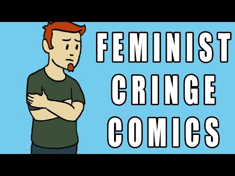 FEMINIST CRINGE COMICS.