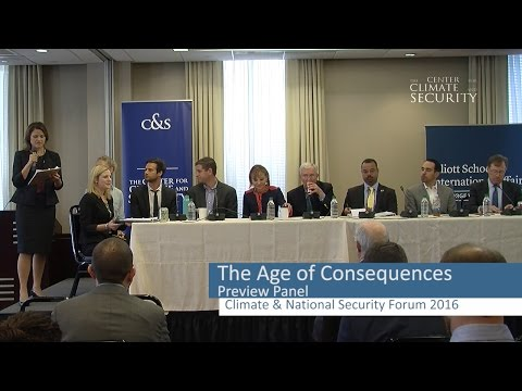 Age of Consequences The Center for Climate and Security