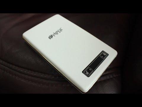 Обзор мобильного аккумулятора HIPER XP17000