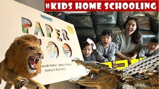 종이로 만드는 동물원 ♡ 종이동물원 paper toys l PAPER ZOO l  paper ART BOOK for kids l DIY paper art