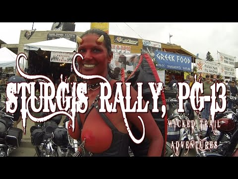 Sturgis Motorcycle Rally, Sturgis's Wild Things, South Dakota. GoPro HD, WTA
