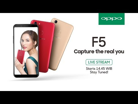Livestreaming | OPPO F5 Grand Launch Event