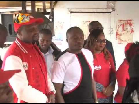 Politicians traverse Nairobi to drum up support for their aspirants
