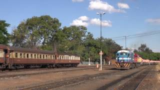 Steam of Zambia Railways Zimbabwe(May.2013) 2 ザンビア ザンビア鉄道の蒸気機関車(2013年5月) 2