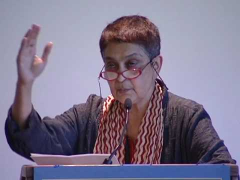 BBRG PRESENTS: Gayatri Chakravorty Spivak on Situating Femin