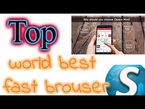 The Best Web Browser 2016