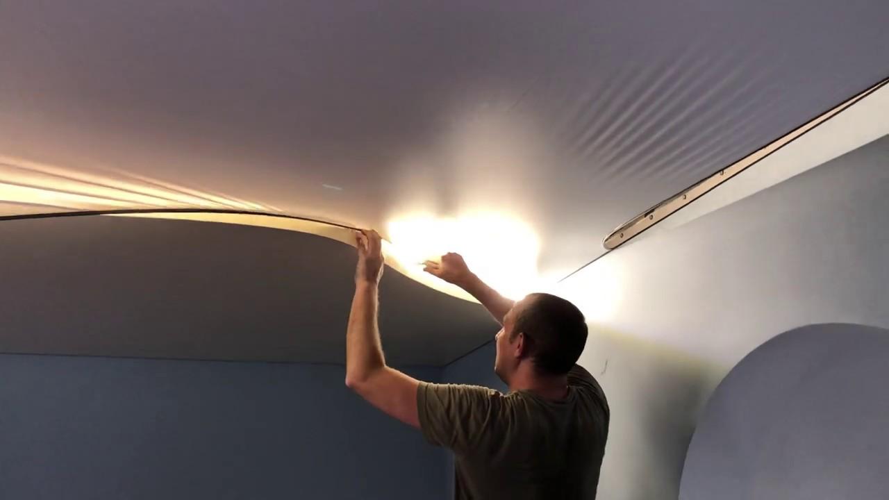 Установка двухуровневого потолка в Сочи