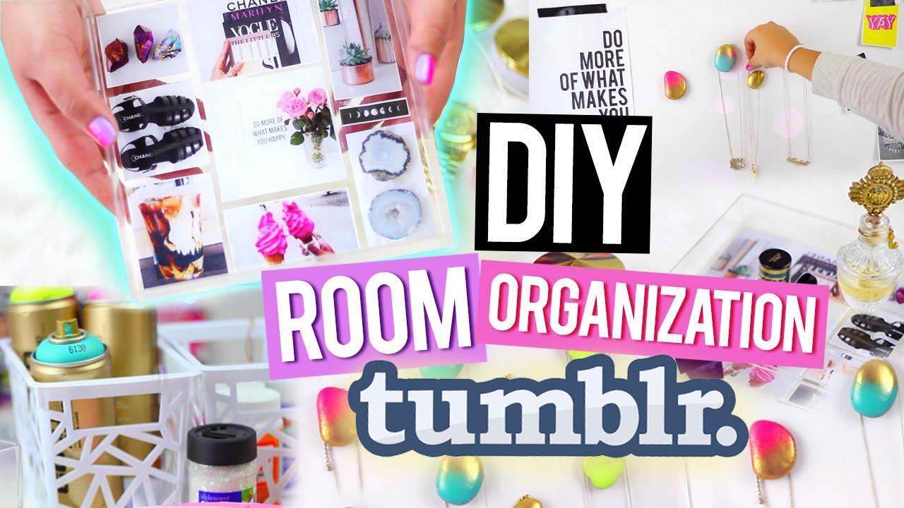 Diy Room Organization For Cheap Tumblr Inspired Decor