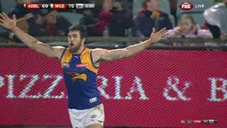 Kennedy kicks the sealer - AFL