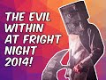 Button Bash - The Evil Within Maze At Fright Night 2014
