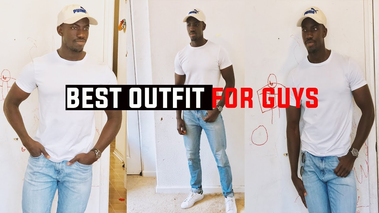 1a63a23178ab HOW TO DRESS UP A WHITE T-SHIRT - YouTube
