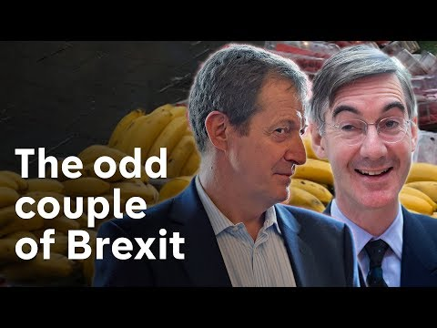 Brexit odd couple: Jacob Rees-Mogg v Alastair Campbell