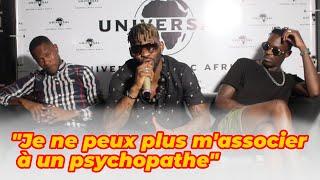 """DJ Arafat """" Je ne peux plus m'associer à un psychopathe """""""