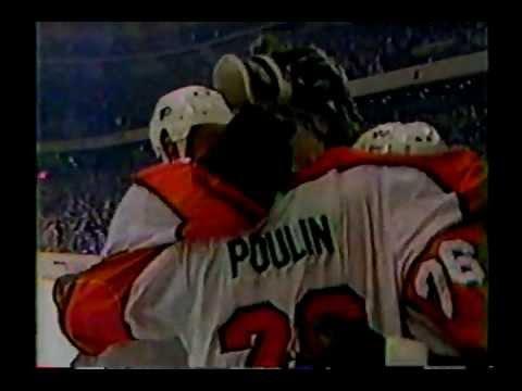 Flyers Captain Dave Poulin 1985