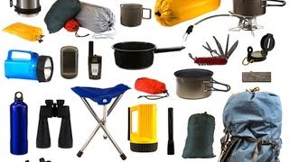 Basic Supplies, Part 1 | Camping