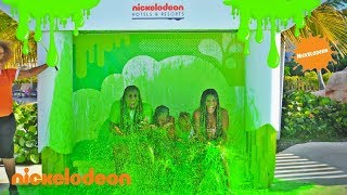 WE GOT SLIMED AT NICKELODEON SLIMEFEST!!!