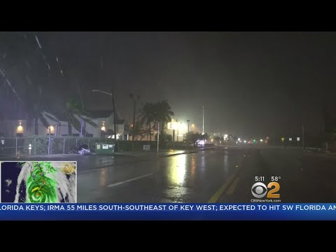 St. Petersburg In Direct Path Of Hurricane Irma