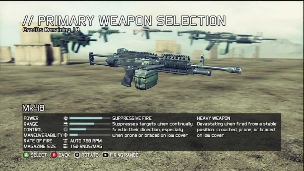 Ghost Recon Future Soldier Unlock All Weapons Glitch for Multiplayer