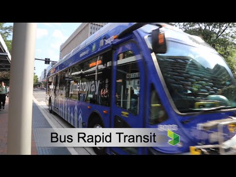 Learn About Bus Rapid Transit