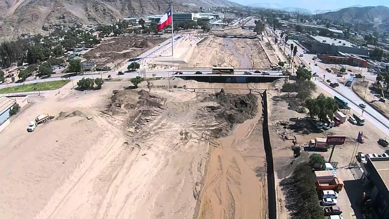 Copiapo, 21 Abril 2015,(Vista Puente Acceso a Copiapo a un mes del ...