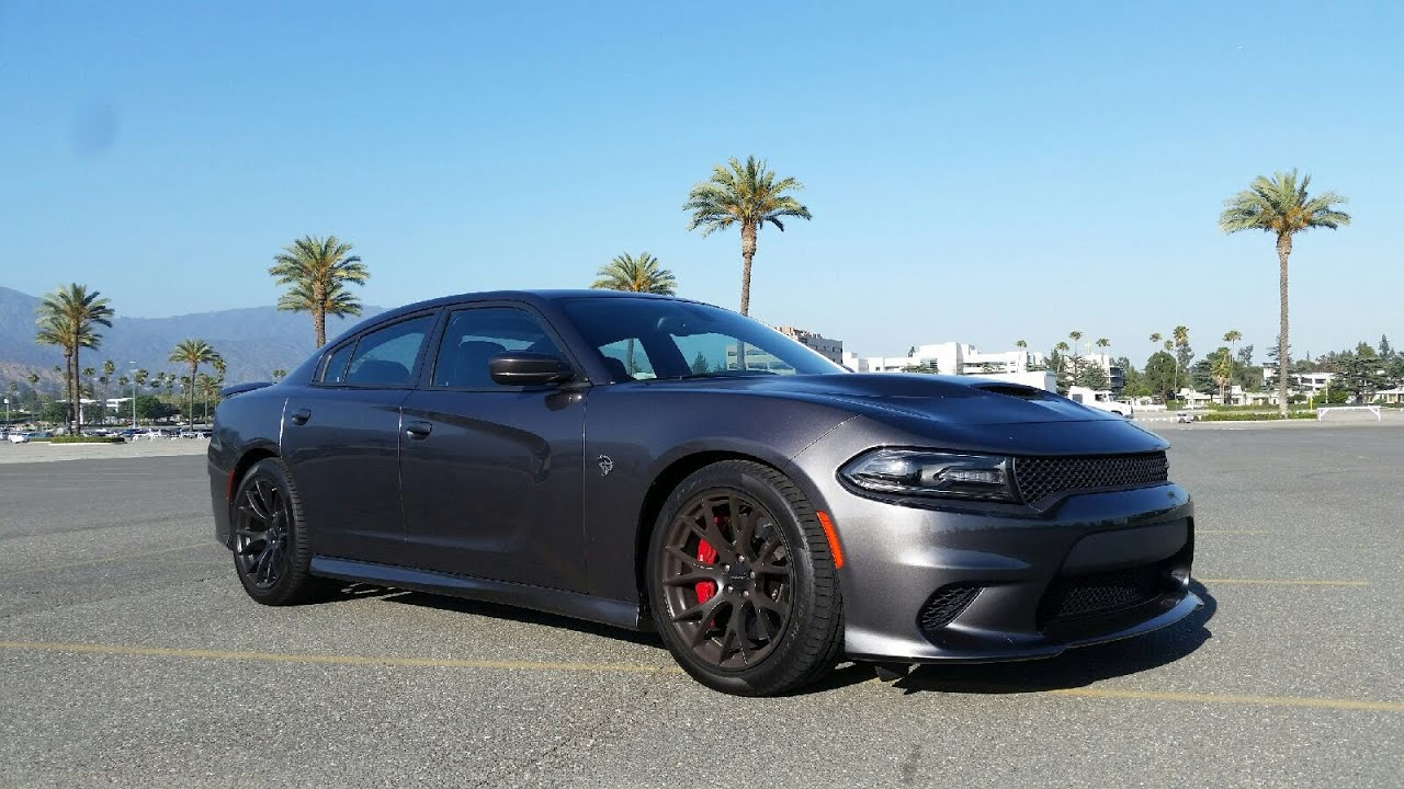 2015 Dodge Charger SRT Hellcat Test Drive - YouTube