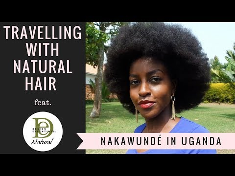 Travelling with Afro Natural Hair | Uganda Vlog || Nakawunde