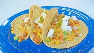 Receta De Tacos De Calabacitas Y Maíz / Recipe Zucchini And Corn Tacos