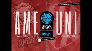 #LaLigaArgentinaBancoComafi   09.12.2018 Ameghino vs. Unión de Santa Fe
