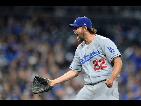 Clayton Kershaw Getting Pissed Off Compilation