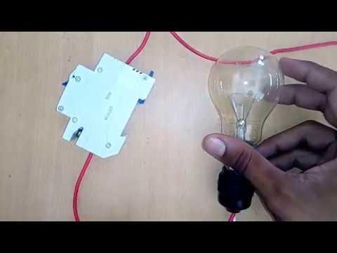 mcb wiring diagram pajero headlight single pole connection desi engineering youtube