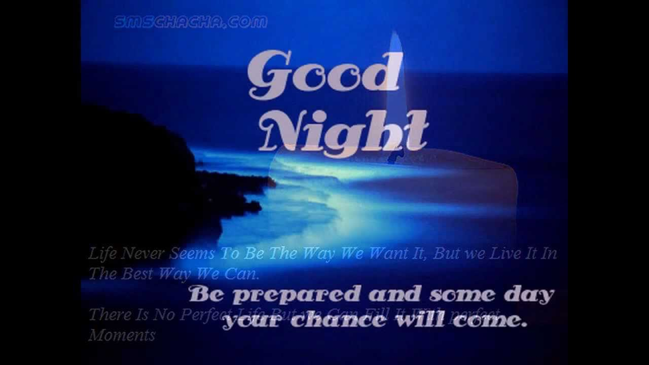 Gud Nite Wallpaper With Quotes Good Night Message Youtube