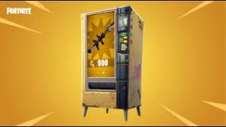 Fortnite | Vending Machine | #Giveaway (WIN 1)