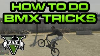GTA V - How to do BMX Tricks