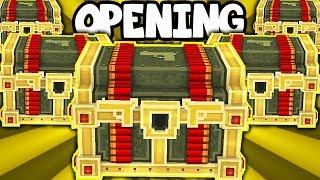 SUPER OPENING LUCKY CHESTÓW W PIXEL GUN 3D PO POLSKU | MINECRAFT + STRZELANKA
