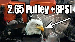 Dodge Demon : Pulley Complete +200hp?