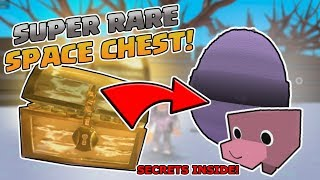 ROBLOX PET SIMULATOR *RARE SPACE CHEST + OUT OF MAP GLITCH!!! *