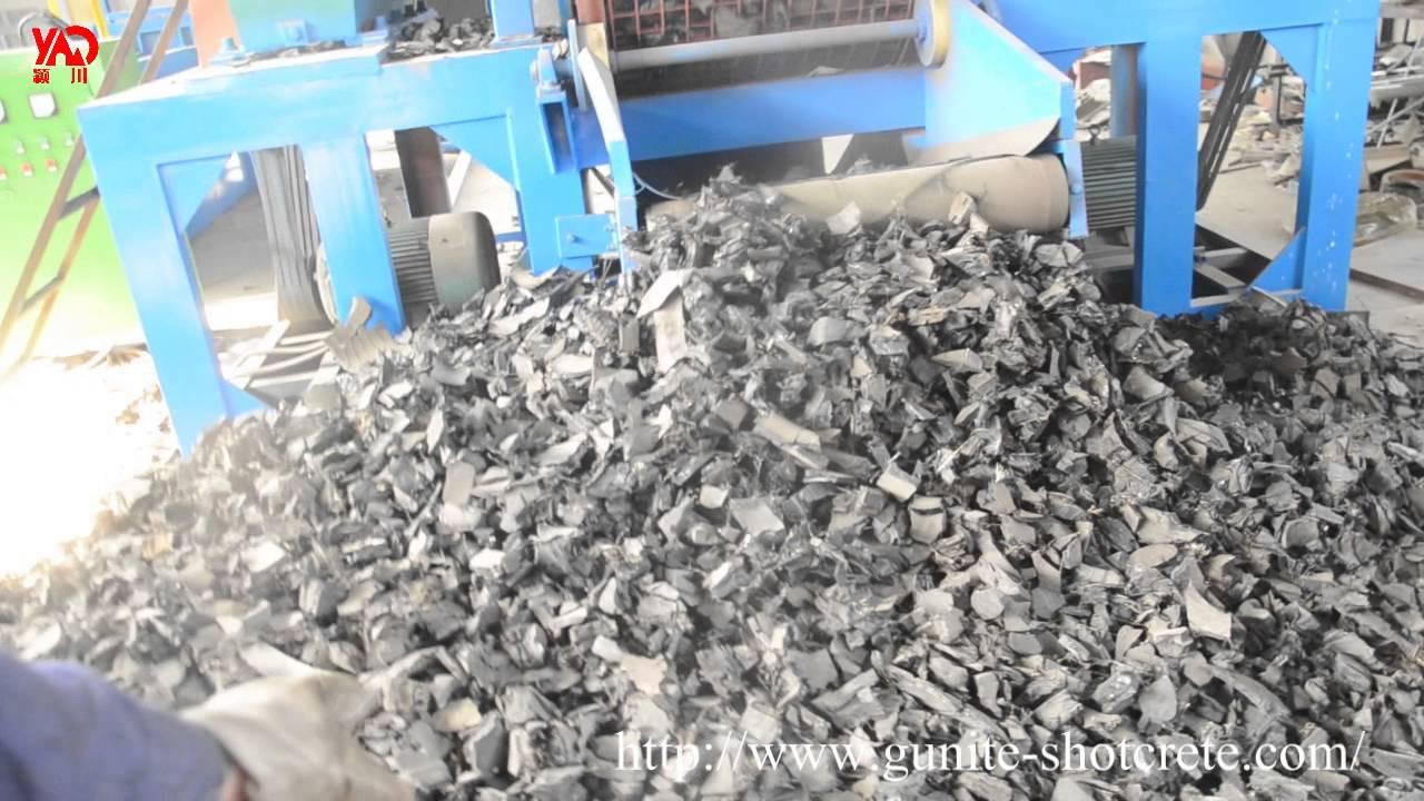 shredding tires machine