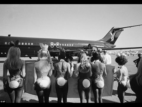 Hugh Hefner's Amazing Playboy Private Jet
